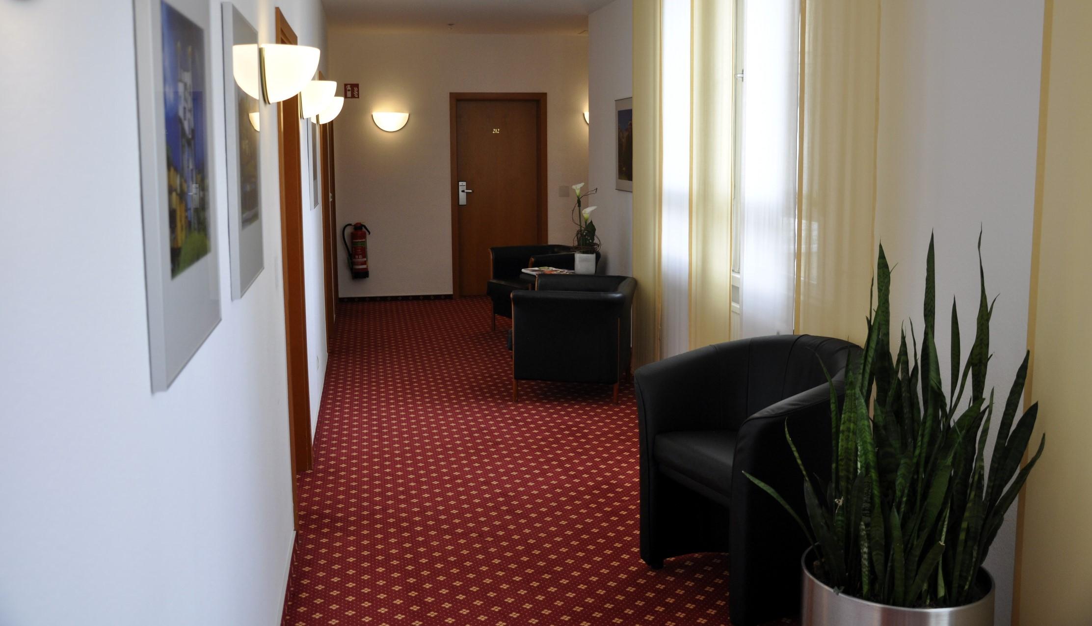 Hotel Schwert_Flur